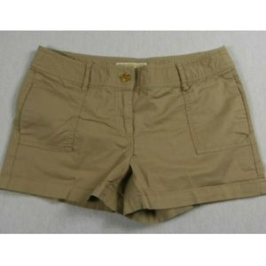 Michael Kors Tan Khaki Shorts Women's Size 4